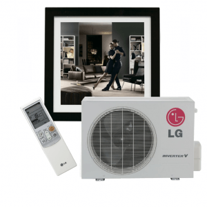 LG Art Cool Gallery inverter